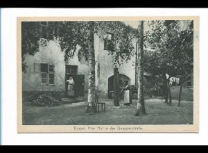 Y19895/ Dorpat Alter Hof in der Quappenstraße Tartu Estland AK ca.1930
