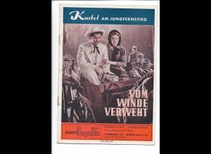 C4536/ Vom Winde verweht Kino Kurbel am Jungfernstieg Hamburg Heft 14 Seiten