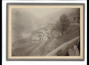 XX14313/ Heiligenblut Österreich 1903 Pappfoto Kabinettfoto