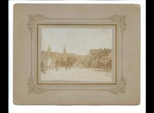 XX14829/ Könnern Foto auf Pappe ca.1900