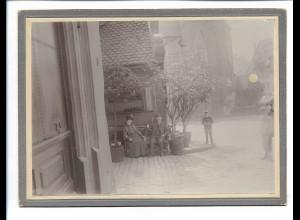 XX14828/ Nürnberg Bratwurstglöckle Foto auf Pappe 1903 19 x 14 cm
