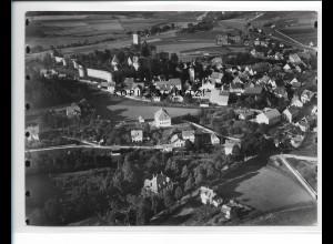 ZZ-5305/ Neuhaus Pegnitz Foto seltenes Luftbild 18 x 13 cm 1936