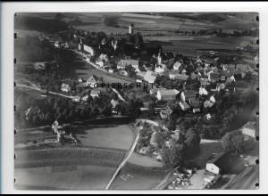 ZZ-5306/ Neuhaus Pegnitz Foto seltenes Luftbild 18 x 13 cm 1936