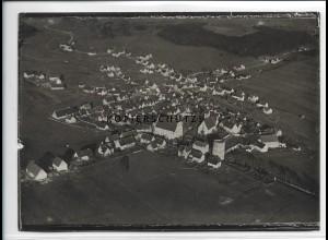 ZZ-5307/ Trochtelfingen Foto seltenes Luftbild 18 x 13 cm ca.1935