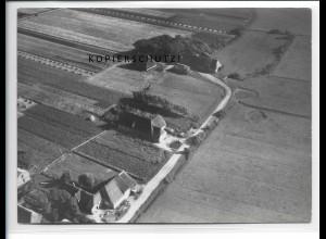 ZZ-5319/ Alkersum auf Föhr Foto seltenes Luftbild 18 x 13 cm 1939