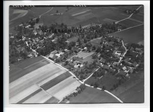 ZZ-5328/ Reding bei Neuhaus am Inn Foto seltenes Luftbild 18 x 13 cm 1938