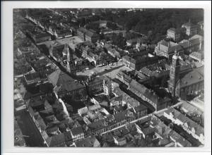 ZZ-5329/ Erlangen Foto seltenes Luftbild 18 x 13 cm 1936