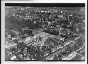 ZZ-5332/ Erlangen Foto seltenes Luftbild 18 x 13 cm 1936