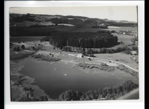ZZ-5519/ Wangen Strandbad Foto seltenes Luftbild 18 x 13 cm 1935