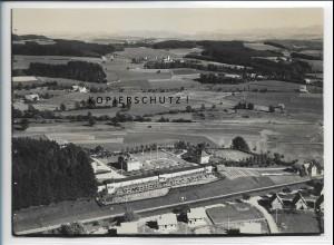 ZZ-5518/ Wangen Kinderheilstätte Foto seltenes Luftbild 18 x 13 cm 1935