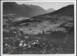 ZZ-5350/ Ruhpolding Foto seltenes Luftbild 18 x 13 cm ca.1938