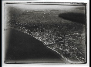 ZZ-5351/ Überlingen Foto seltenes Luftbild 18 x 13 cm 1934