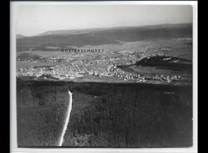 ZZ-5353/ Tuttlingen Foto seltenes Luftbild 16 x 13 cm 1935