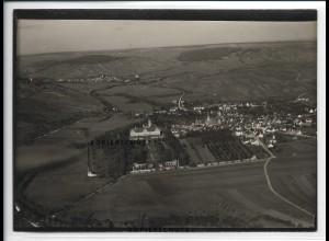 ZZ-5358/ Weikersheim Foto seltenes Luftbild 18 x 13 cm ca.1935