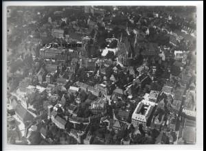 ZZ-5359/ Augsburg Foto seltenes Luftbild 18 x 13 cm ca.1935