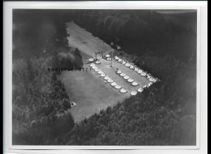 ZZ-5361/ Langenneufnach H. Lager Foto seltenes Luftbild 17 x 13 cm 1937