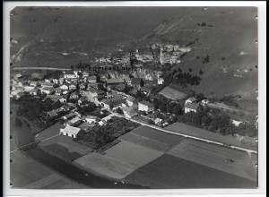 ZZ-5362/ Ober-Eichstätt Foto seltenes Luftbild 18 x 13 cm ca.1935
