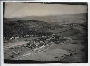 ZZ-5365/ Miedelsbach Foto seltenes Luftbild 18 x 13 cm ca.1938