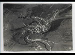 ZZ-5373/ Veringenstadt Foto seltenes Luftbild 17 x 12 cm 1934