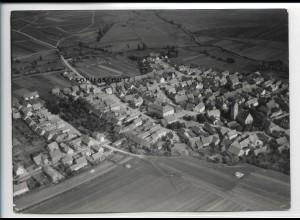 ZZ-5371/ Milz Thüringen Foto seltenes Luftbild 18 x 13 cm 1937