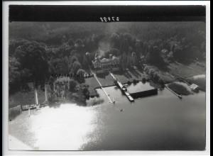 ZZ-5375/ Stock bei Prien Foto seltenes Luftbild 18 x 13 cm ca.1938