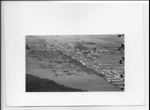 ZZ-5378/ Kandel Foto seltenes Luftbild 18 x 13 cm 1935