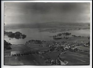 ZZ-5520/ Seehausen bei Murnau Foto seltenes Luftbild 18 x 13 cm 1934