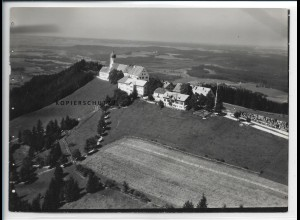 ZZ-5370/ Hohenpeißenberg Foto seltenes Luftbild 18 x 13 cm 1936