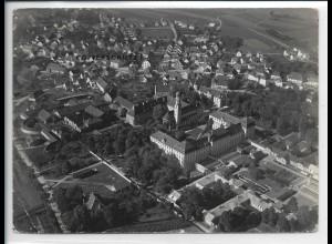 ZZ-5389/ Schussenried Foto seltenes Luftbild 18 x 13 cm ca. 1935