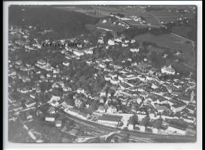 ZZ-5390/ Bad Reichenhall Foto seltenes Luftbild 18 x 13 cm 1938