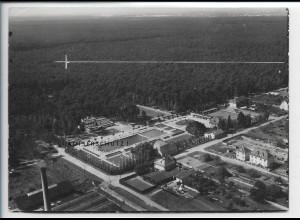ZZ-5408/ Neu-Isenburg b. Frankfurt Foto seltenes Luftbild 18 x 13 cm 1935
