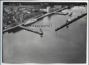 ZZ-5410/ Friedrichshafen Foto seltenes Luftbild 18 x 13 cm ca. 1938