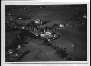 ZZ-5393/ Heimenkirch bei Wangen Foto seltenes Luftbild 18 x 13 cm ca. 1935