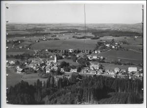 ZZ-5394/ Heimenkirch bei Wangen Foto seltenes Luftbild 18 x 13 cm ca. 1935
