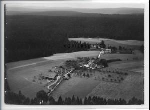 ZZ-5397/ Oedenwald bei Freudenstadt Foto seltenes Luftbild 18 x 13 cm 1939
