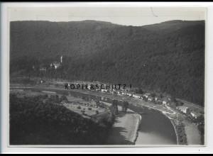 ZZ-5398/ Zwingenberg a. N. Foto seltenes Luftbild 18 x 13 cm 1935