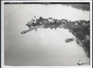 ZZ-5401/ Wasserburg bei Lindau Foto seltenes Luftbild 18 x 13 cm 1939