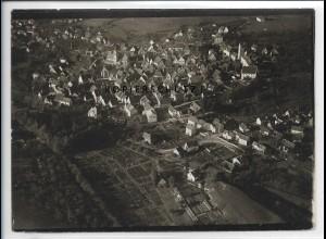 ZZ-5402/ Pfullendorf Foto seltenes Luftbild 18 x 13 cm ca.1935