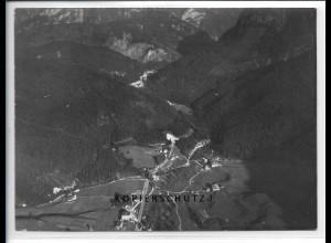 ZZ-5403/ Weissbach Foto seltenes Luftbild 18 x 13 cm 1938