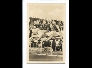 XX14752/ Tschudina (UdSSR) Rußland 80 m Hürden-Lauf 50er Jahre Foto AK