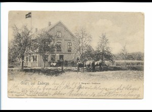 XX14738/ Ladecop bei Jork AK Bergner`s Gasthaus AK 1908