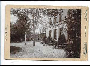 XX14824/ Kabinettfoto Eutin Hotel-Dieksee Atelier Alb. Giesler ca.1900