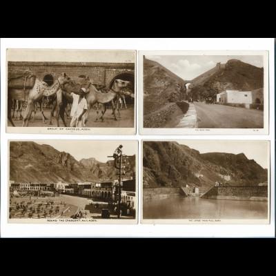 XX14809/ 4 x Foto AK Aden Jemen ca.1930