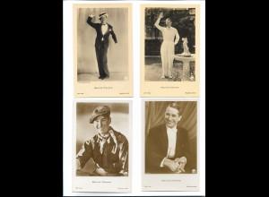XX14867/ 4 x Foto Ross AK Schauspieler Maurice Chevalier