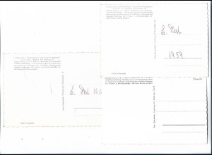XX14845/ 3 x alte AK Sottorf Krs. Harburg Cordes Gasthaus 1959