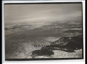 ZZ-5464/ Remstal seltenes Foto Luftbild 18 x 13 cm ca.1935