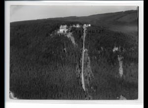 ZZ-5526/ Wildbad Sonnenberghotel Foto seltenes Luftbild 18 x 13 cm ca. 1935