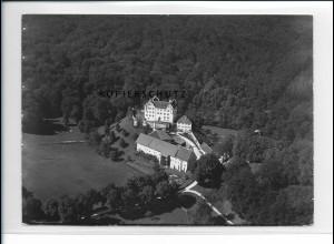 ZZ-5463/ Schloß Duttenstein seltenes Foto Luftbild 18 x 13 cm 1936