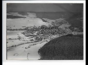 ZZ-5447/ Neustadt Schwarzwald seltenes Foto Luftbild 18 x 13 cm ca.1938