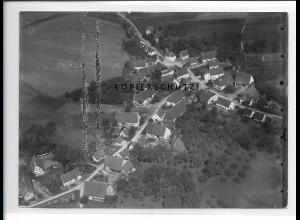ZZ-5445/ Hippelsweiler b. Wald seltenes Foto Luftbild 18 x 13 cm ca.1938